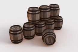 You can't store digital data in barrels unless you store hard drives in the barrels.