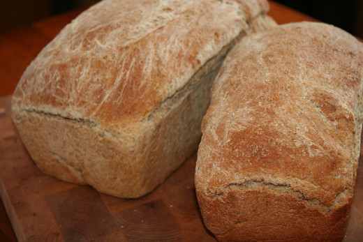 Bread is often baked at Lammas to celebrate the grain harvest and is the subject of many traditions and superstitions.