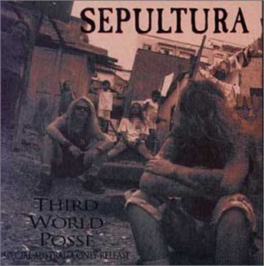 """Sepultura's ARISE tour of Australia was commemorated by an Aussie-exclusive EP release, """"Third World Posse"""" (1992)"""