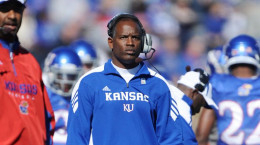 Turner Gill stayed a short time at the University of Kansas.