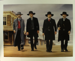 Wyatt Earp, Virgil Earp, Morgan Earp and Doc Holliday