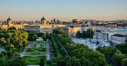 Capital of Austria. Famous for its high quality of life, its cultural events, imperial sights and for the Vienna Boys' Choir, one of the best known boys' choirs in the world.
