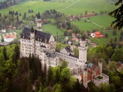 Castle built for the fairy-tale king in the 19th century.