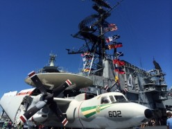 The USS Midway Museum in San Diego, California