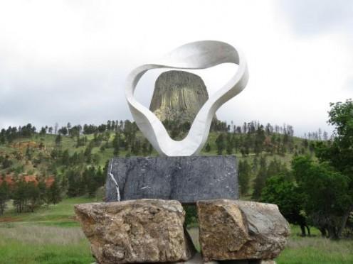 Devils Tower Sacred Smoke Sculpture