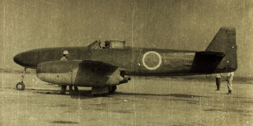 A Nakajima Kikka, 1945.