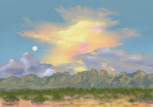 'Organ Mountains Sunset' Prints available at http://fineartamerica.com/profiles/1-ellie-taylor.html
