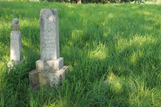 Frank Kessler, Valley View Cemetery