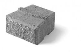note the ridge on the brick