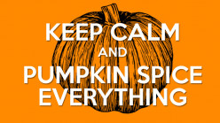 Pumpkin Spice Drinks and Food