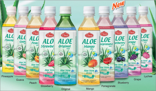 Aloe Vera can be consumed as a juice and water.If you happen to be going trough a drought, this succulent plant can be a life saver. As you can see, Aloe Vera beverages can come a variety of delicious flavors.