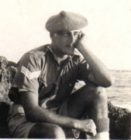 Sergeant Charles Pendleton, ex-Liverpool Scottish and Layforce served on Crete and later on the raid on Bardia