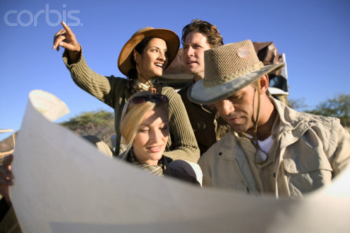 Safaris can be enjoyed by families as well as a few people.