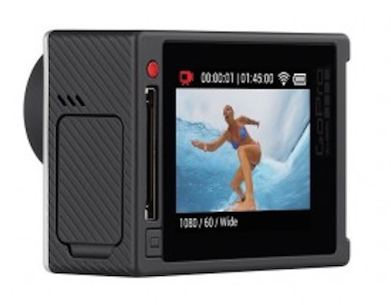 The GoPro Silver includes an LCD screen.  The screen can easily be turned on and off by pressing the button dedicated to this function in the corner of the cam.
