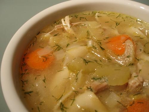 Special chicken soup (Jewish penicillin)