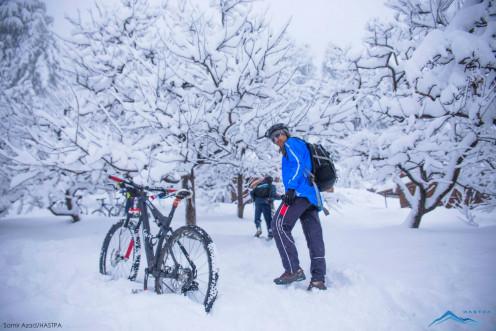 MTB Himalaya's  Freezing ride powered by HASTPA