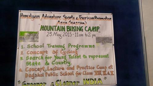 Mountain Biking Training Camp at Dagshai.