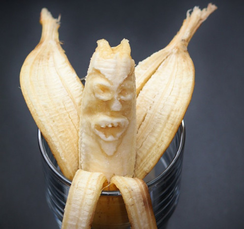 This banana was part of Cold War politics, but it was not his fault!
