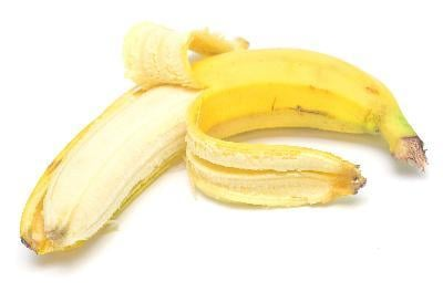 Ripe banana fruit sweetens pancakes and also  nourishes the body with vitamins and minerals.