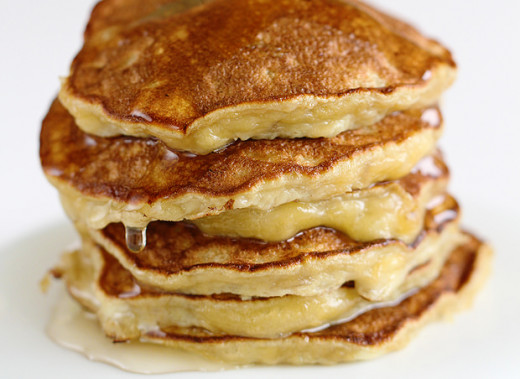 Low calorie banana pancake