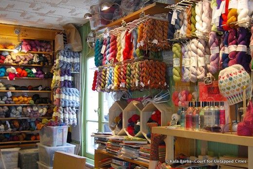 Is there a yarn shop you'd enjoy exploring on an Artist Date?