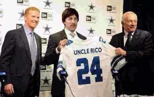 The latest free agent signing by Jerry Jones?