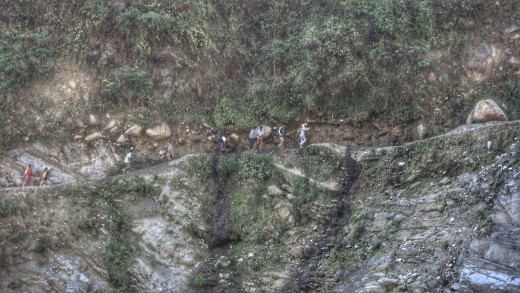 Mountain Walk in Darchula