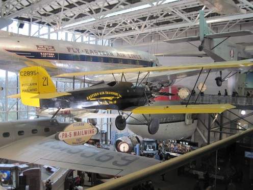 Planes On Display At The National Air And Space Museum