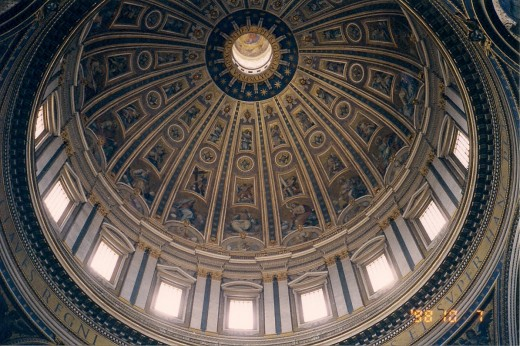 MICHELANGELO'S DOME IN ST. PETERS