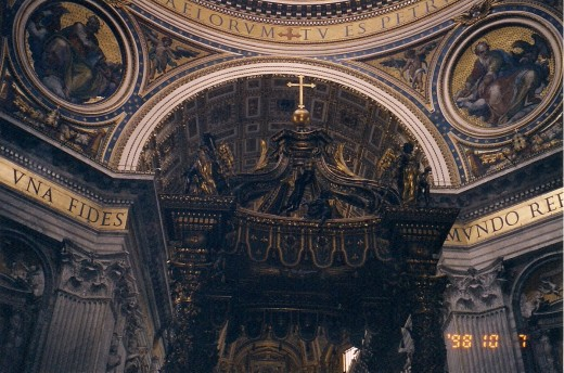 WHERE ST. PETER IS BURIED