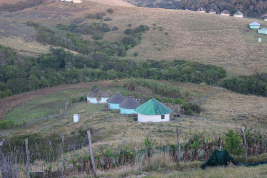 Tribal Family huts