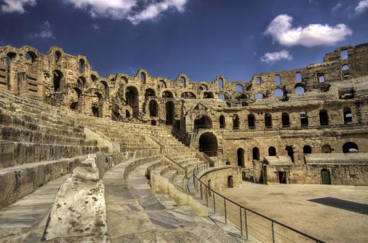 El Jem amphitheatre, Tunisia