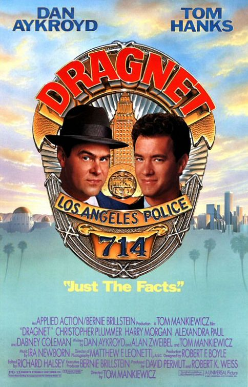 "Poster for ""Dragnet"""