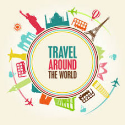 Congratulations! You won a Trip around the World to the places of YOUR choice! Can you please....