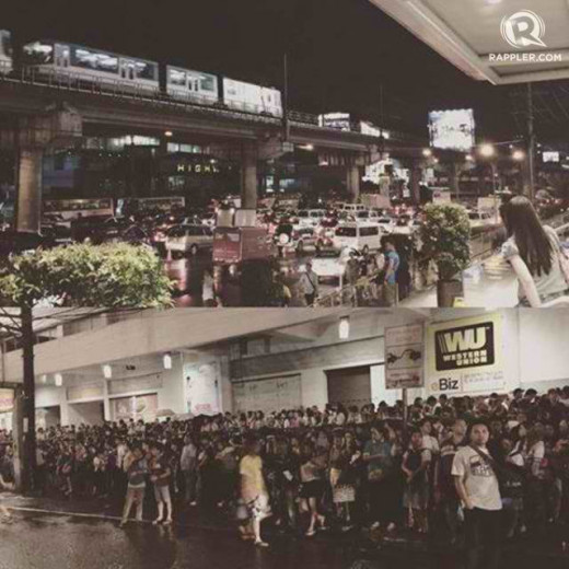 The September 8. 2015 Manila traffic dilemma.