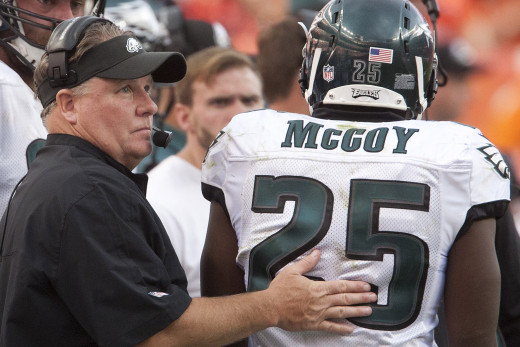 Chip Kelly pushed LeSean McCoy out the door