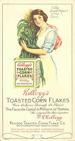 Early Kellogg ad