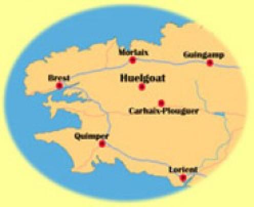 Huelgoat, Finistère, Brittany, France