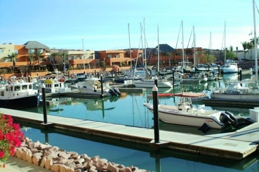 The Upper Harbor of the Marina Costa Baja...