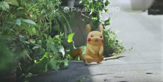 A theoretical wild Lv. 10 Pikachu
