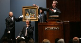Auction houses are looking for candidate to auction certain valuable art pieces. To be a certified auctioneer, you have to auction school. That's right! Auction school!