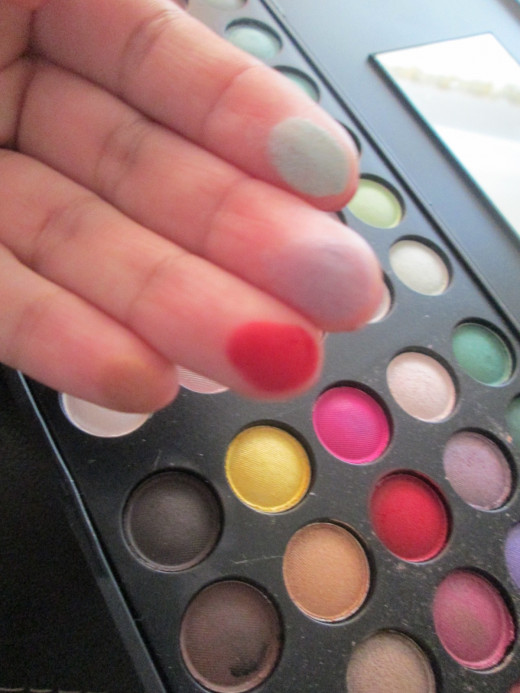 very pigmented & blend beautifully