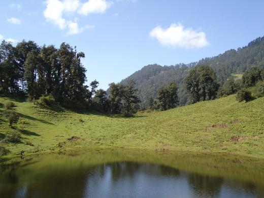 A mesmerizing view of Barnala Tal