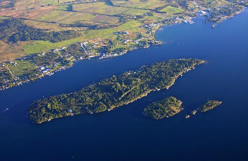 Round Island in Clayton, NY