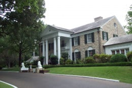 A picture I took of Graceland, 2012  I keep this picture as the background on my laptop.