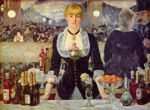 Bar at Folies-Bergere.