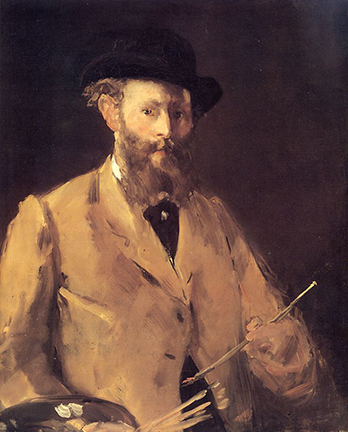 Self-portrait with Pallet.