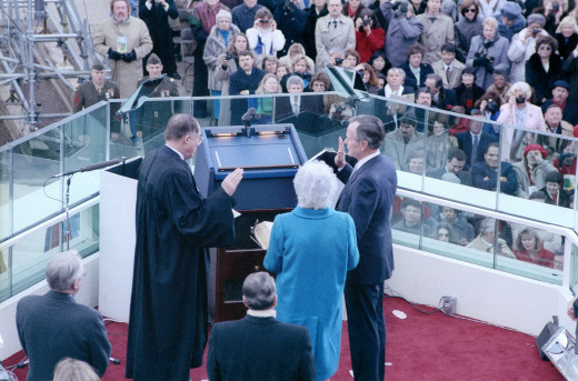 Inauguration of George H.W. Bush.