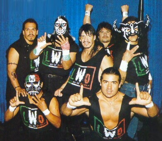 La Parka, along with the rest of the LWO, Latino World Order