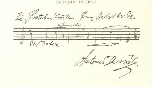 Antonin Dvorak score